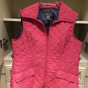 Peck and Peck Weekend quilted vest